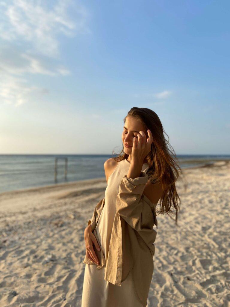 Моя жена на побережье Гили